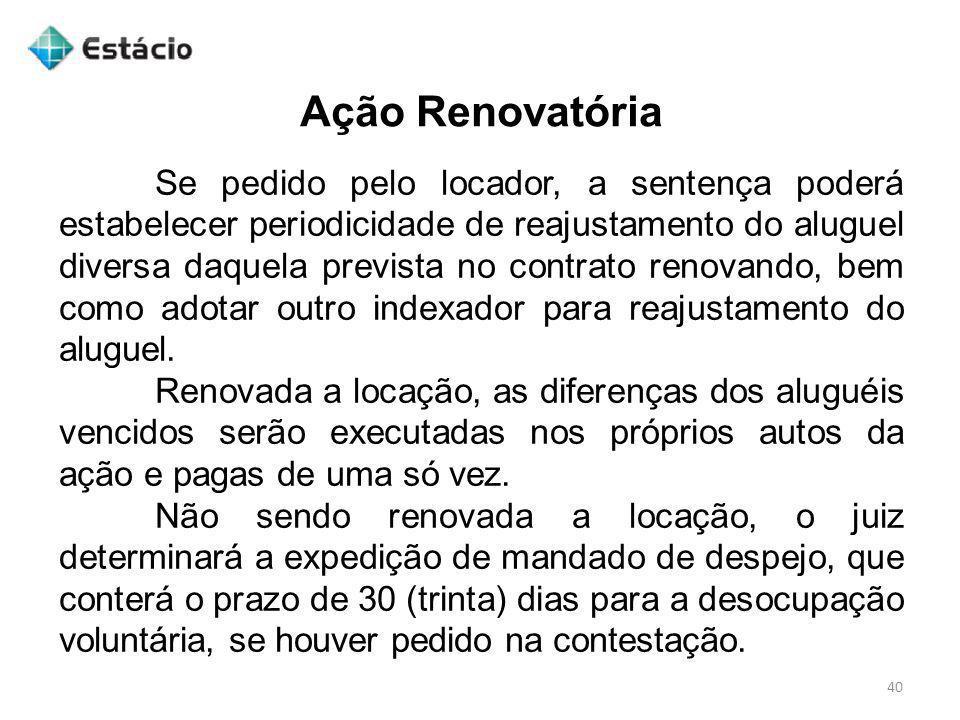 Ação Renovatória