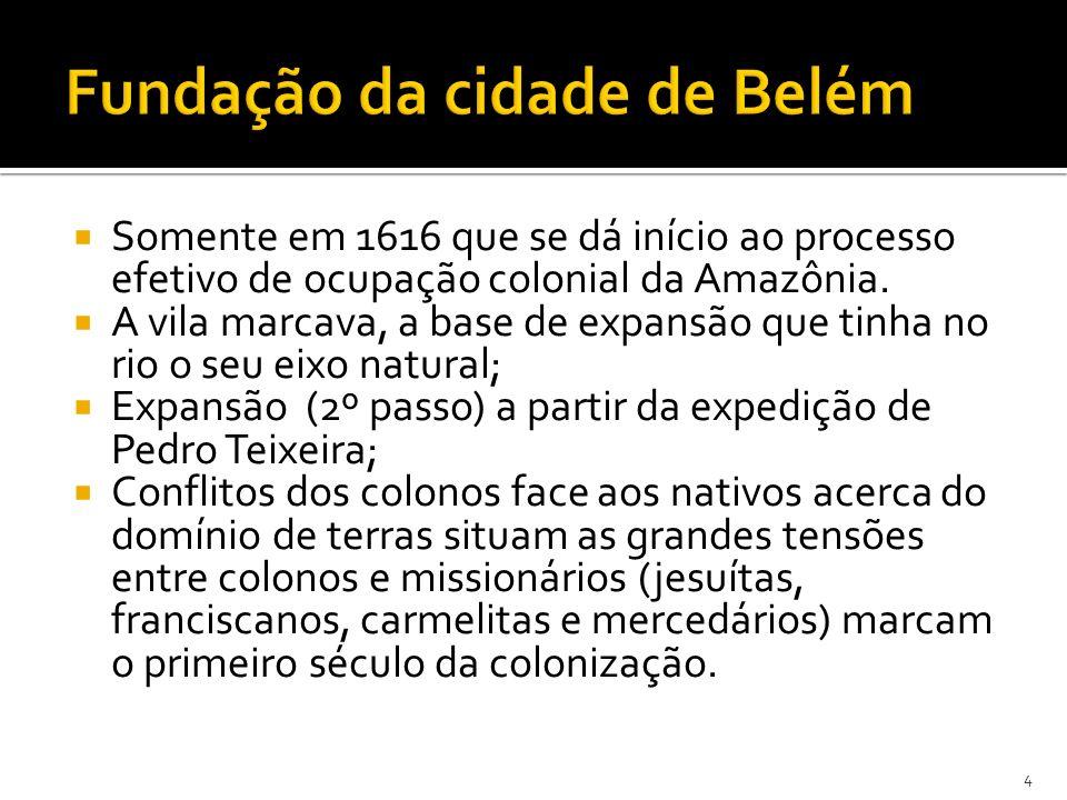 Fundação da cidade de Belém