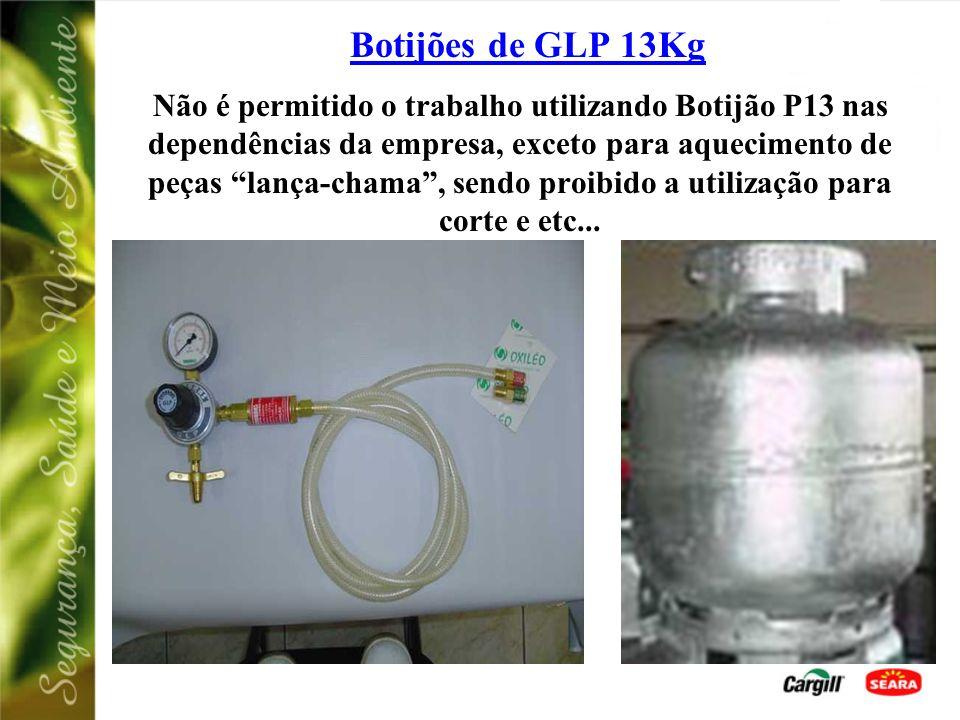 Botijões de GLP 13Kg Este dispositivo de segurança protege contra o retrocesso de
