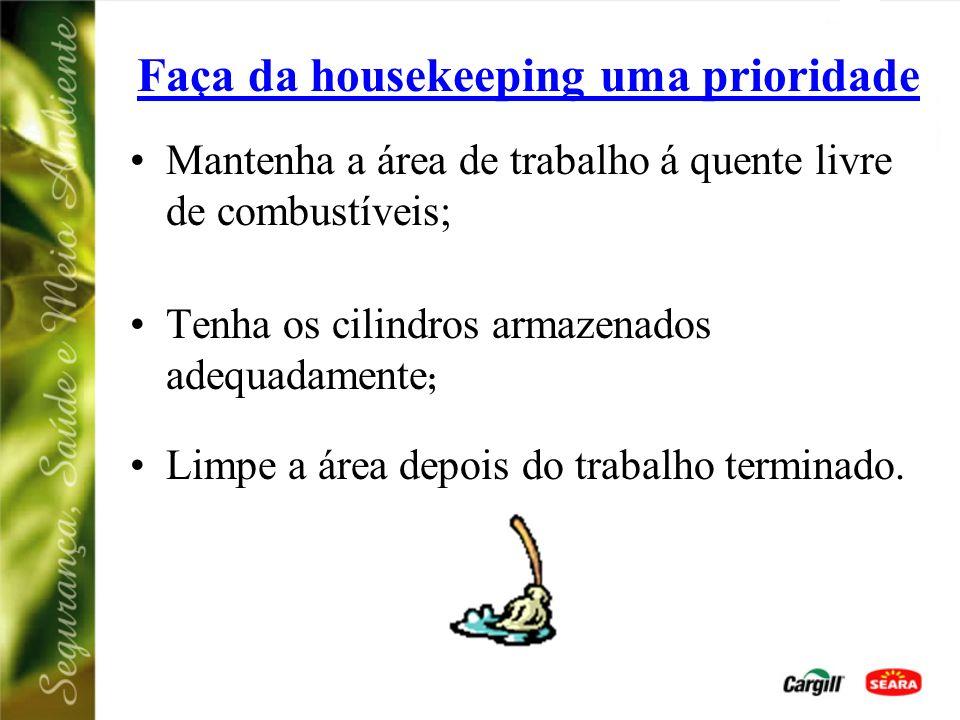 Faça da housekeeping uma prioridade