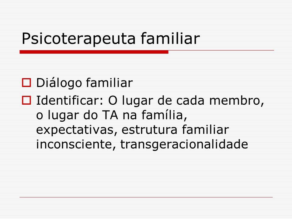 Psicoterapeuta familiar