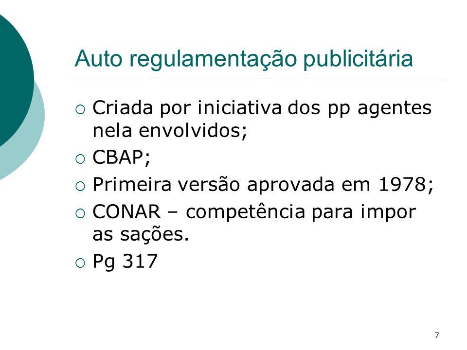Auto regulamentação publicitária