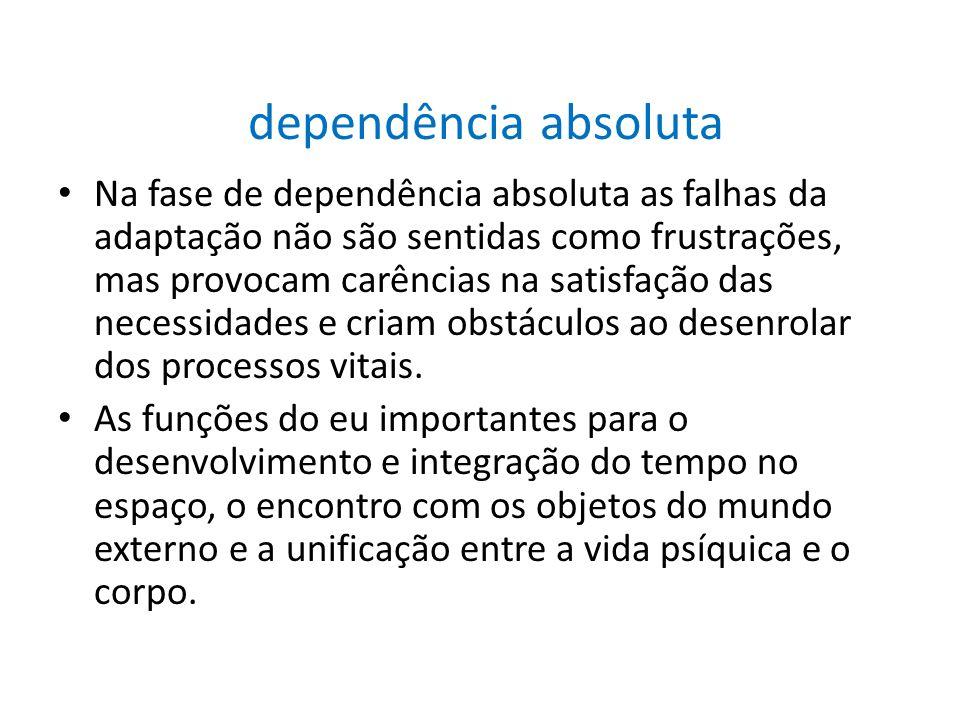 dependência absoluta