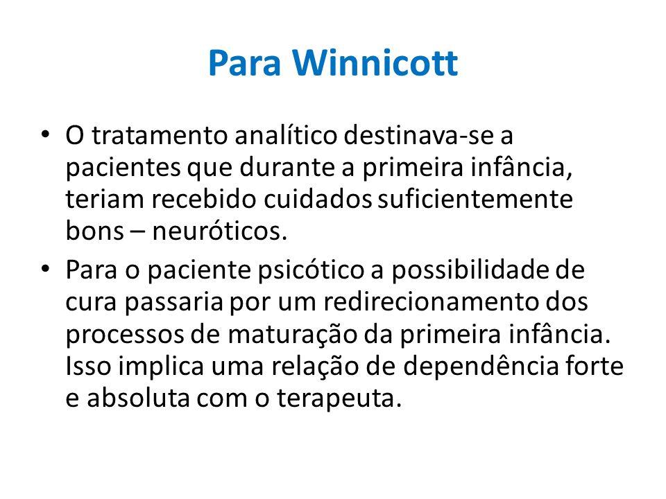 Para Winnicott