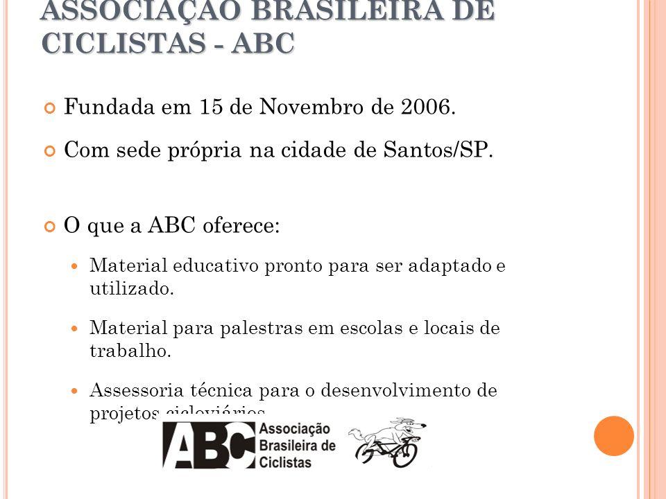 ASSOCIAÇÃO BRASILEIRA DE CICLISTAS - ABC