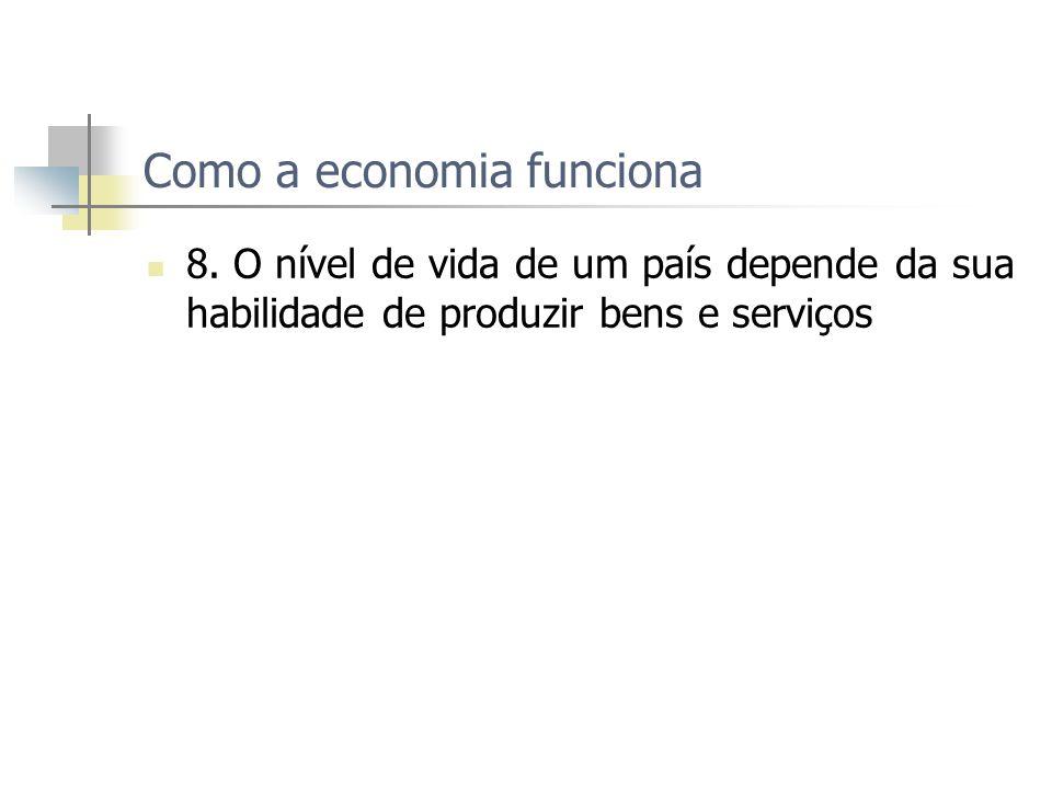 Como a economia funciona