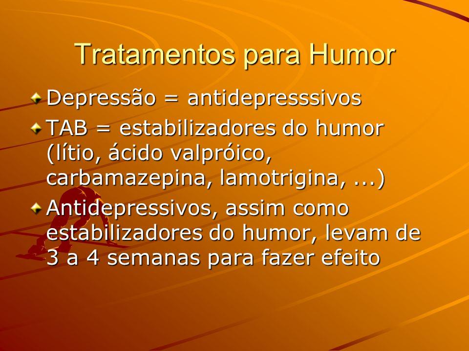 Tratamentos para Humor