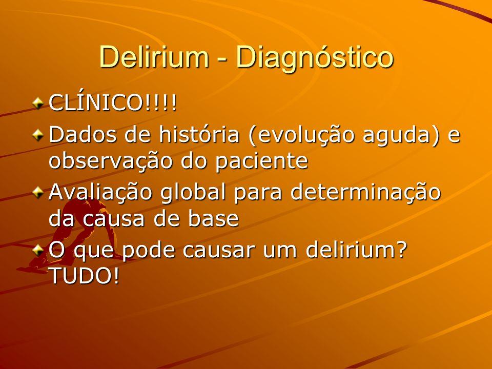 Delirium - Diagnóstico