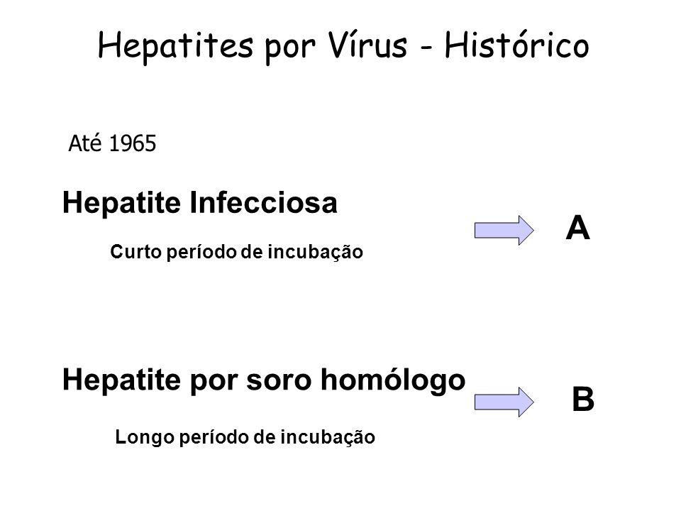 Hepatites por Vírus - Histórico