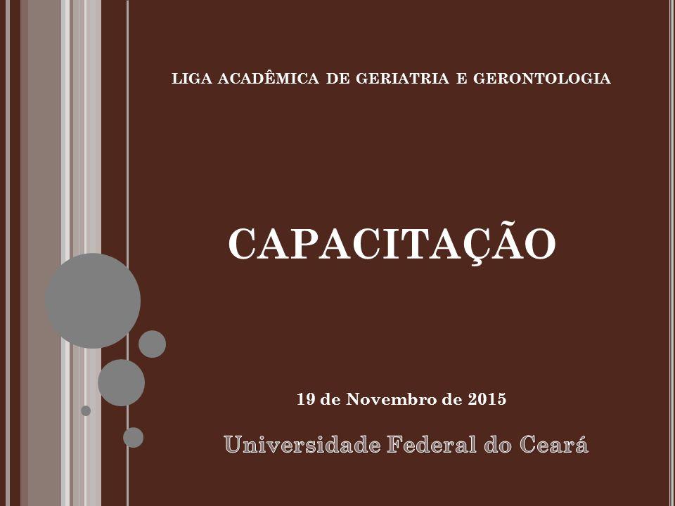 liga acadêmica de geriatria e gerontologia capacitação