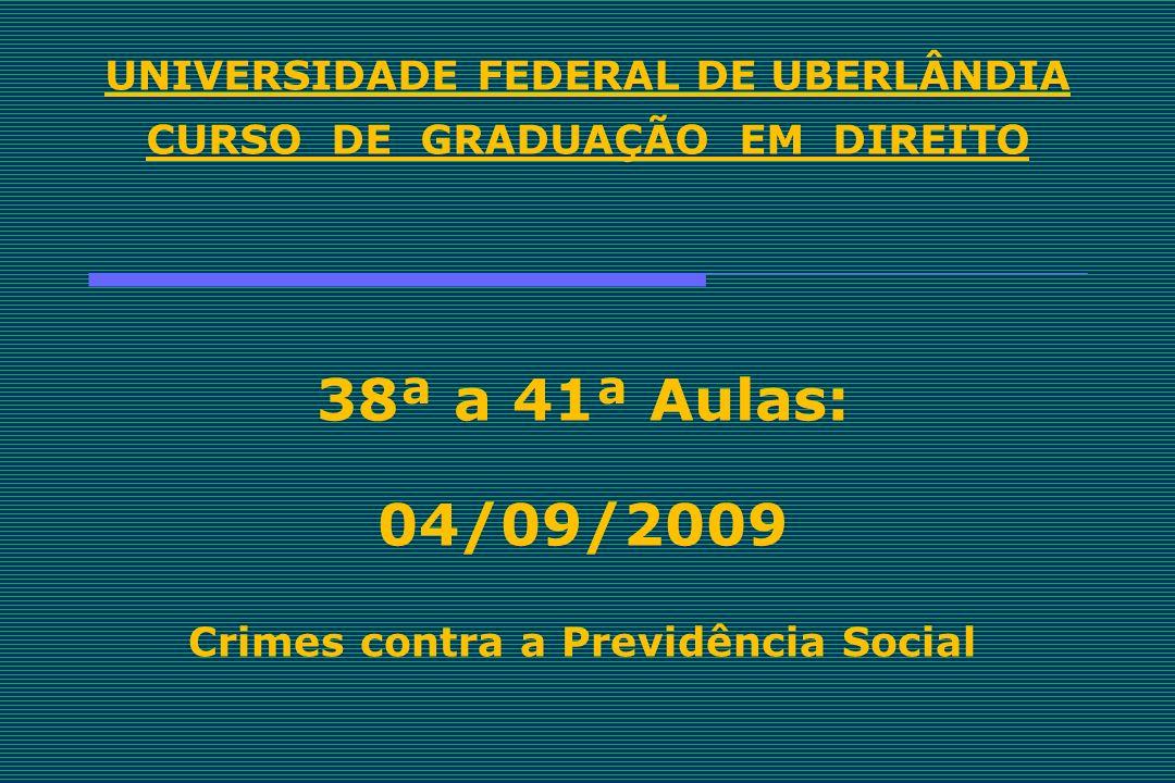 UNIVERSIDADE FEDERAL DE UBERLÂNDIA CURSO DE GRADUAÇÃO EM DIREITO