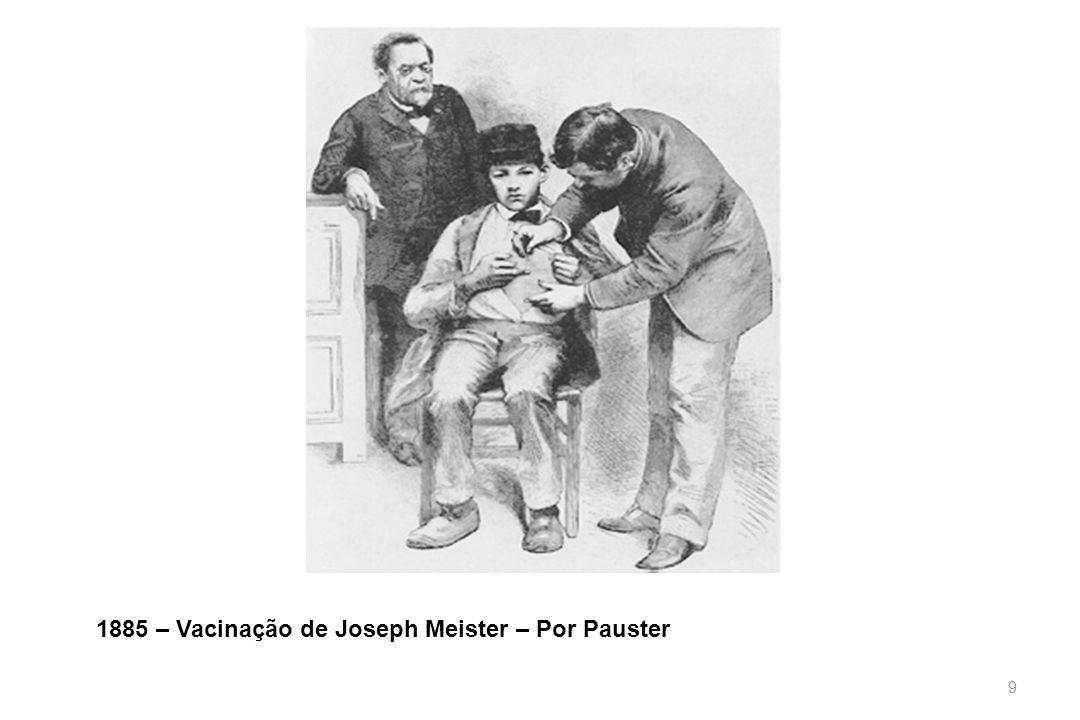 1885 – Vacinação de Joseph Meister – Por Pauster