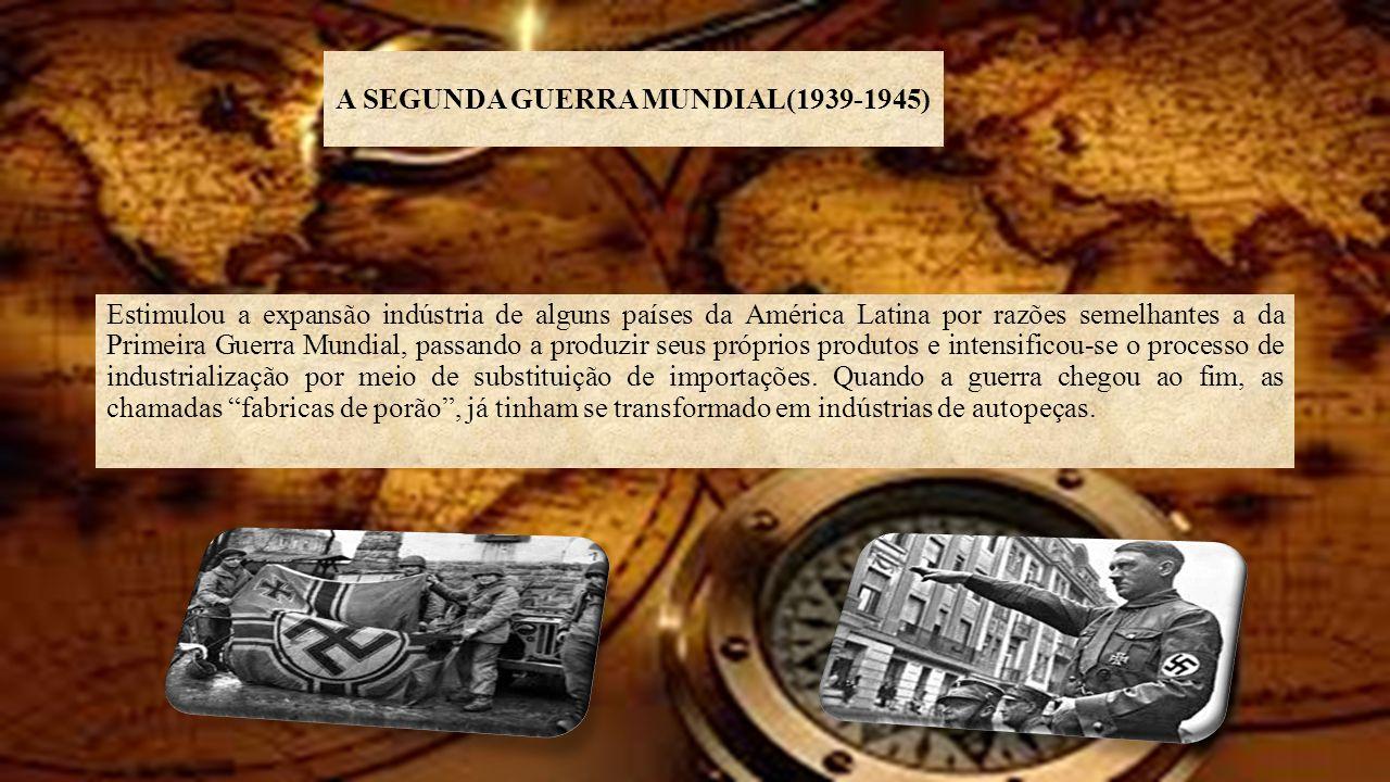A SEGUNDA GUERRA MUNDIAL(1939-1945)
