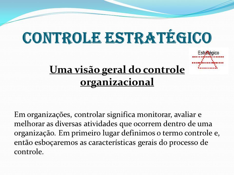 Uma visão geral do controle organizacional