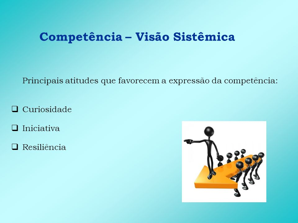 Competência – Visão Sistêmica