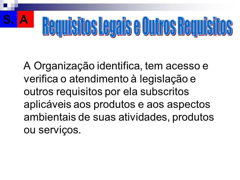 Requisitos Legais e Outros Requisitos