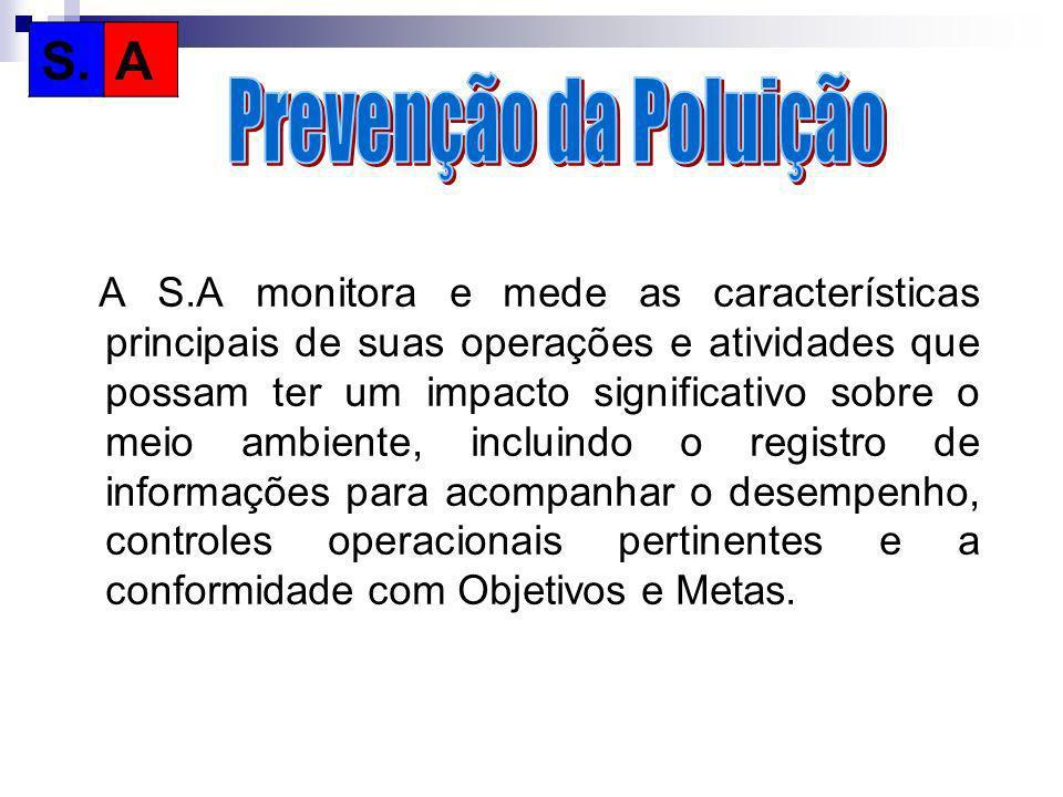 S. A Prevenção da Poluição