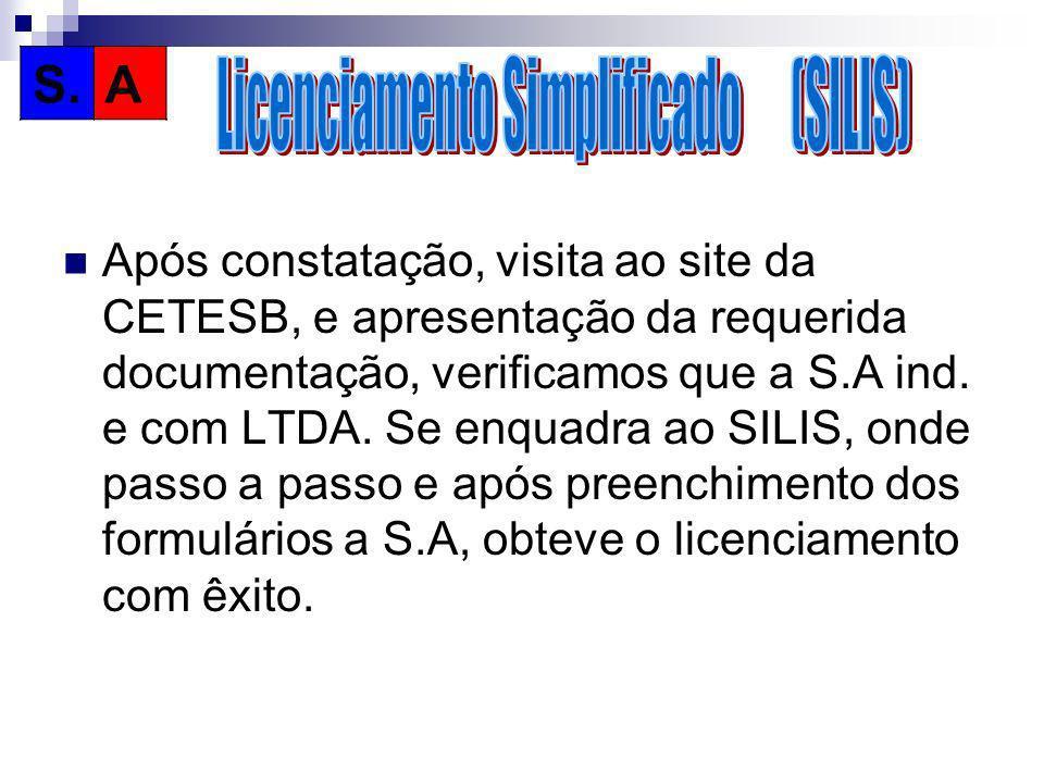 Licenciamento Simplificado (SILIS)