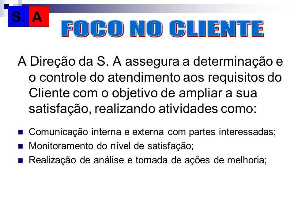 S.A. FOCO NO CLIENTE.