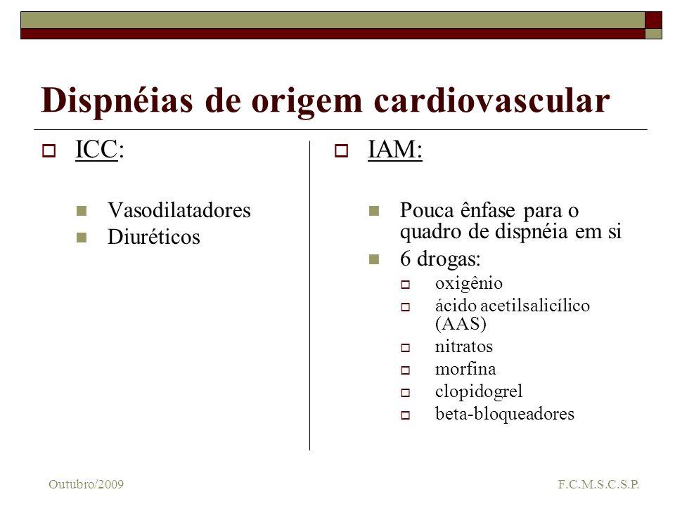 Dispnéias de origem cardiovascular