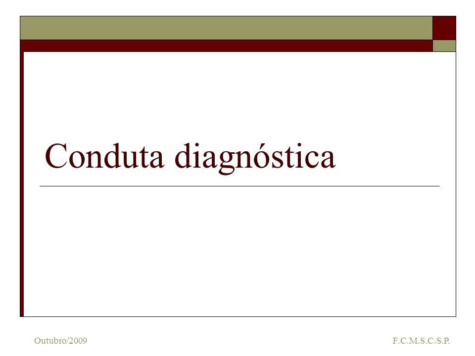 Conduta diagnóstica