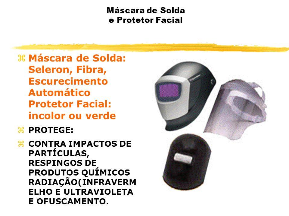 Máscara de Solda e Protetor Facial