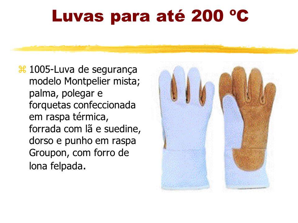 Luvas para até 200 ºC