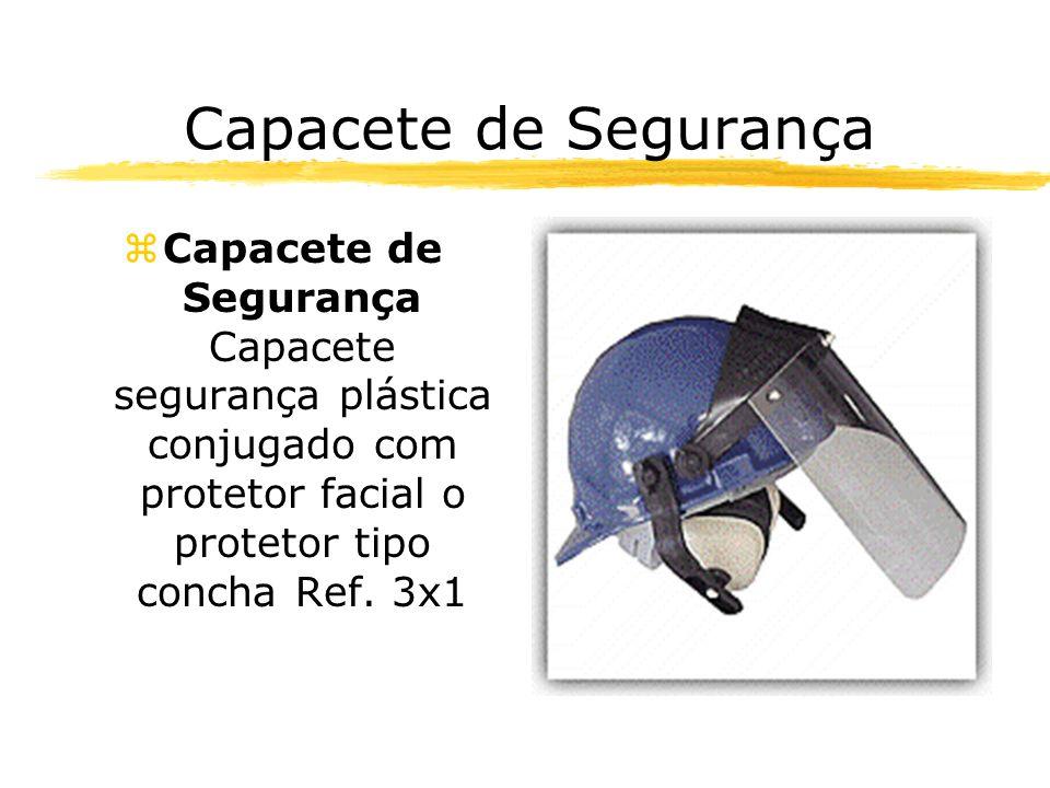 Capacete de Segurança Capacete de Segurança Capacete segurança plástica conjugado com protetor facial o protetor tipo concha Ref.