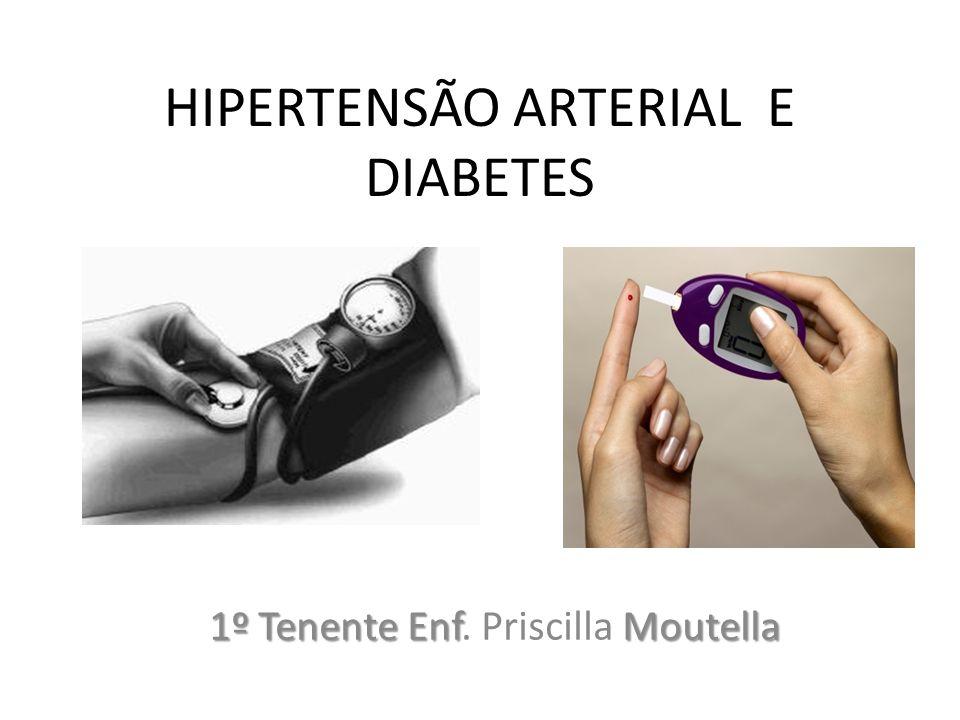 HIPERTENSÃO ARTERIAL E DIABETES
