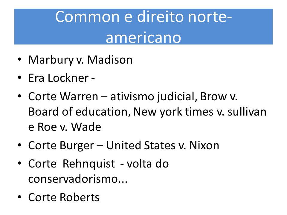 Common e direito norte-americano