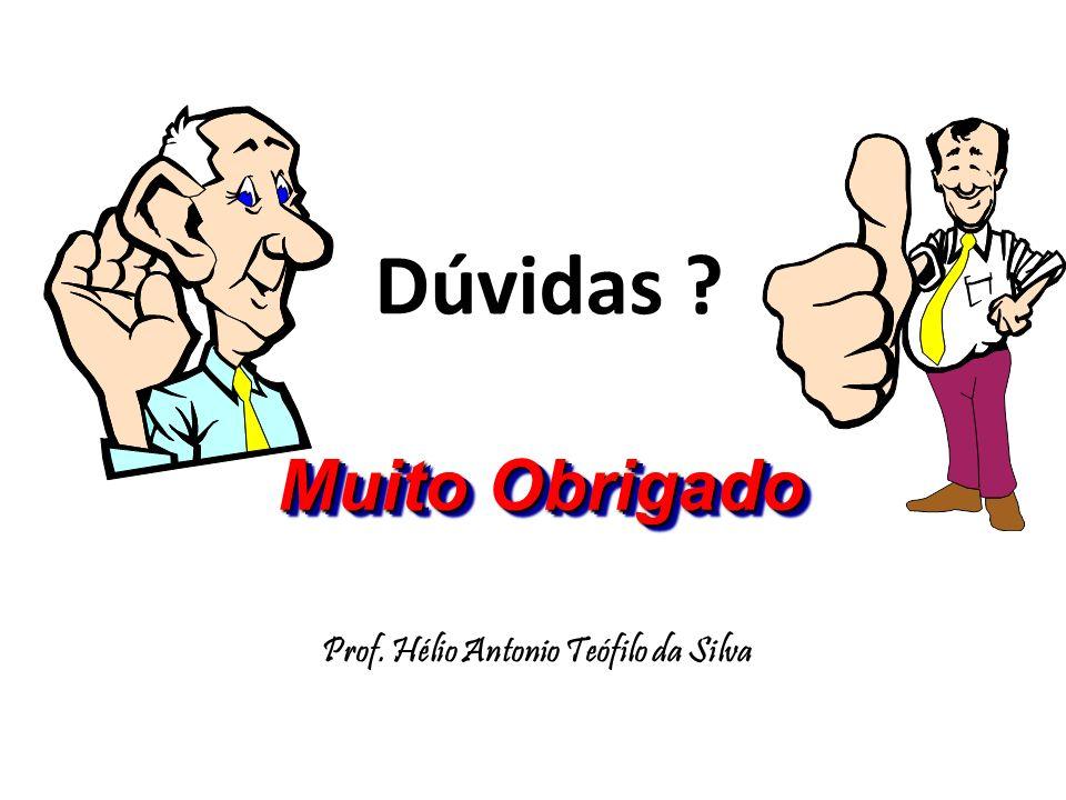 Prof. Hélio Antonio Teófilo da Silva