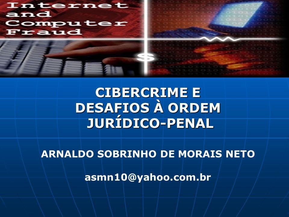 ARNALDO SOBRINHO DE MORAIS NETO