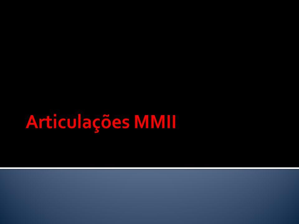 Articulações MMII
