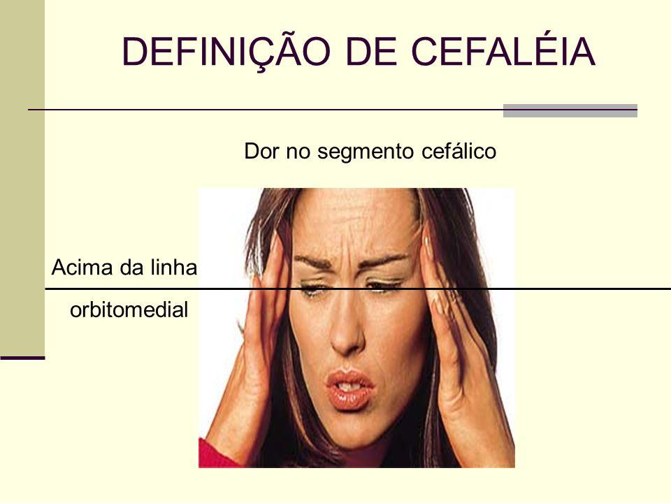 Dor no segmento cefálico