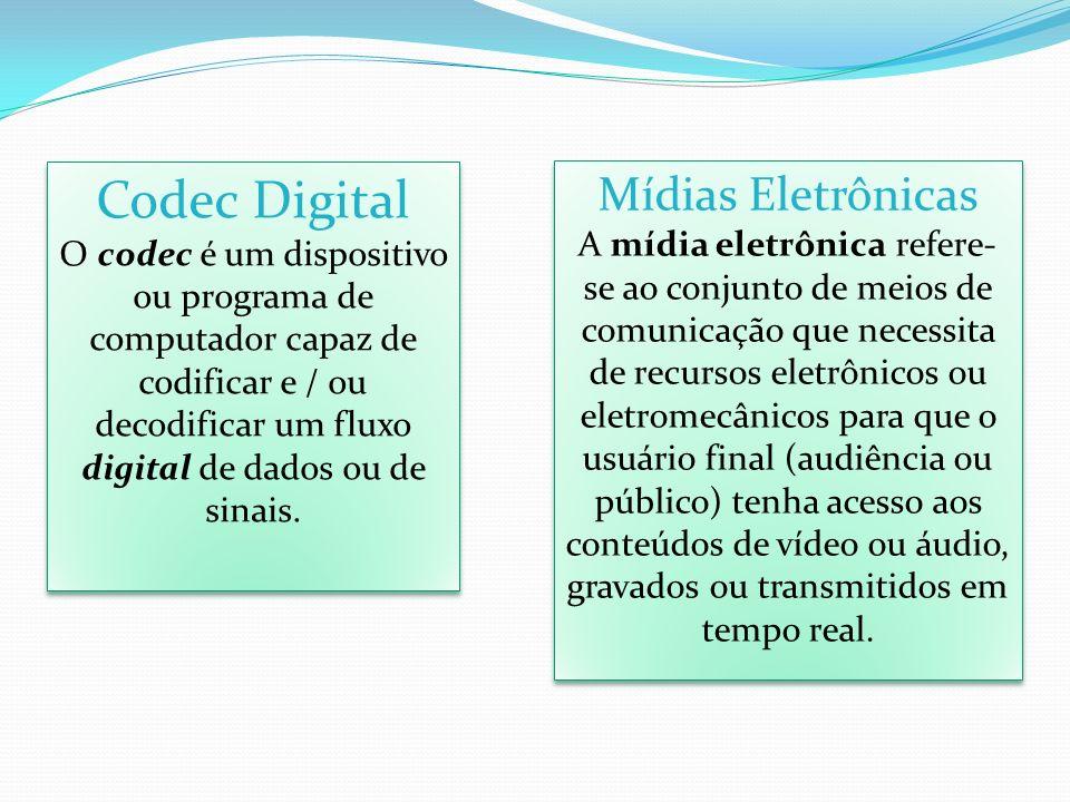 Codec Digital Mídias Eletrônicas