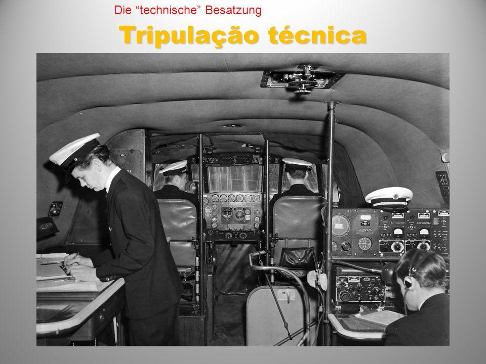 Die technische Besatzung