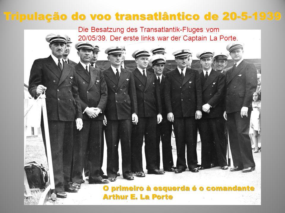 Tripulação do voo transatlântico de 20-5-1939