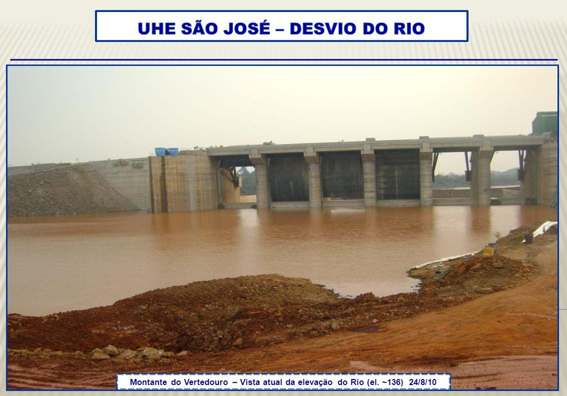 UHE SÃO JOSÉ – DESVIO DO RIO