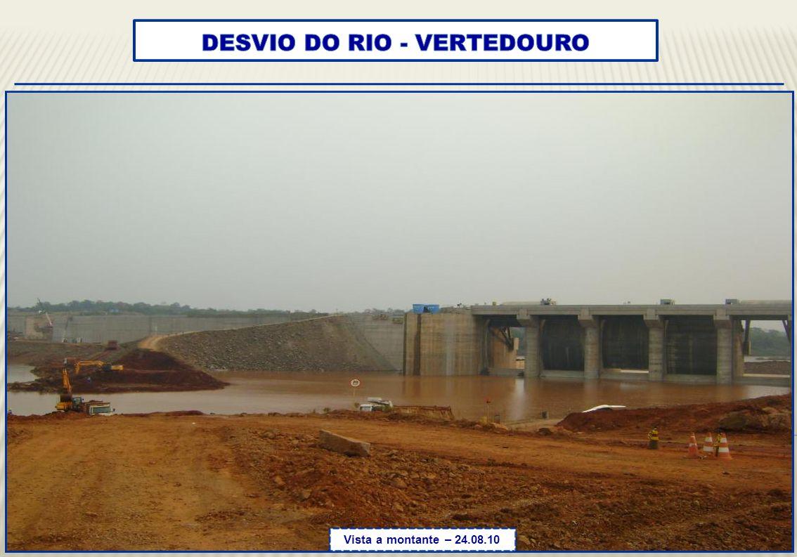 DESVIO DO RIO - VERTEDOURO