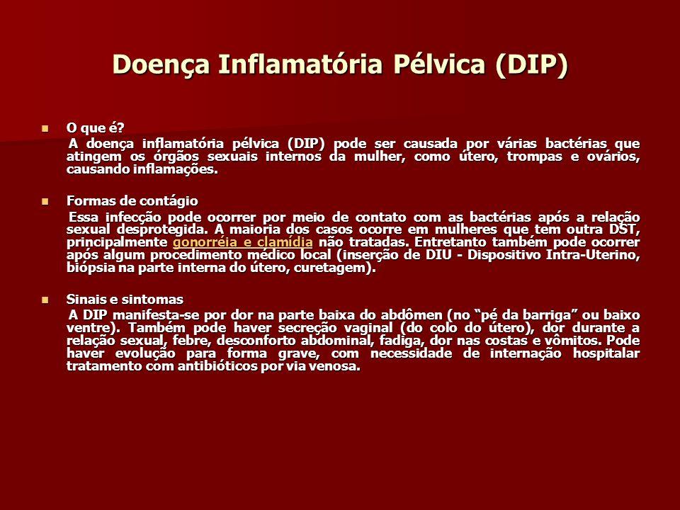 Doença Inflamatória Pélvica (DIP)
