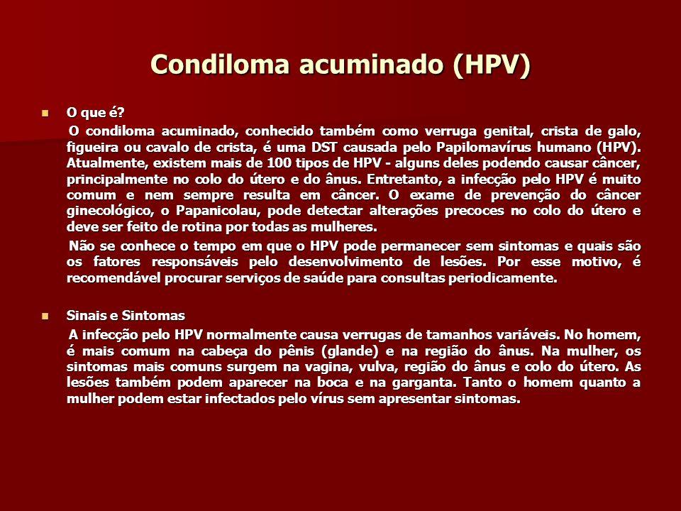 Condiloma acuminado (HPV)