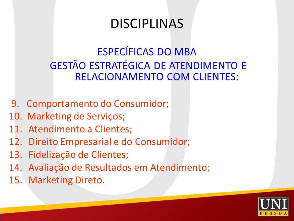 GESTÃO ESTRATÉGICA DE ATENDIMENTO E RELACIONAMENTO COM CLIENTES: