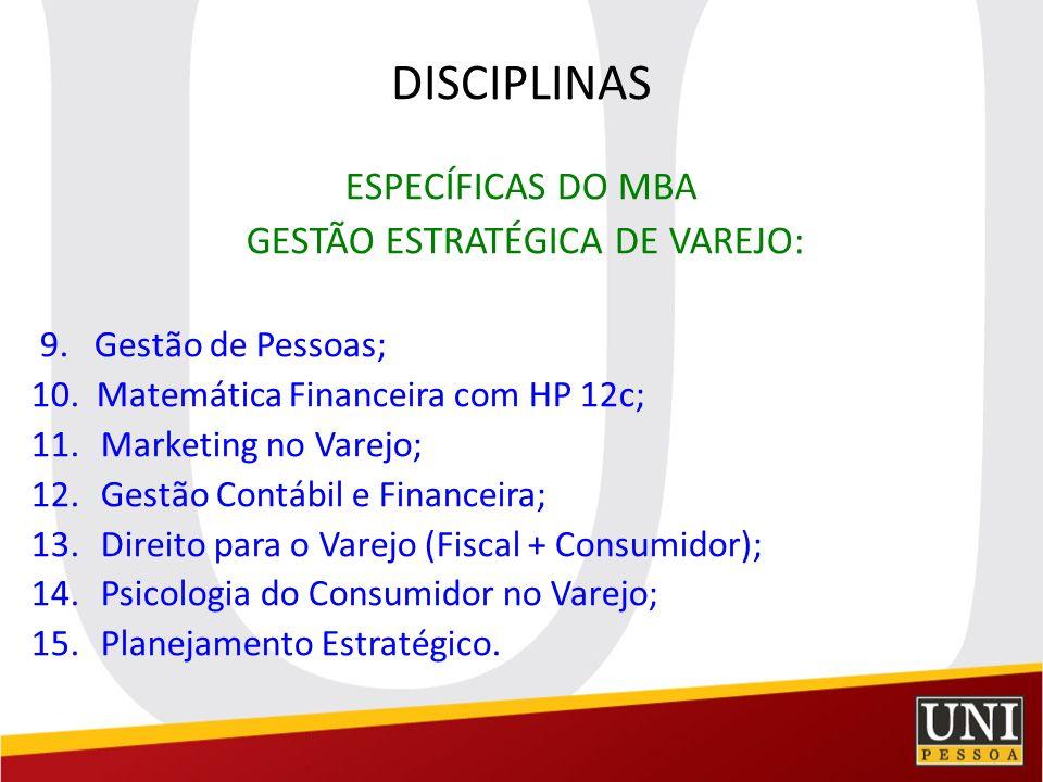 GESTÃO ESTRATÉGICA DE VAREJO:
