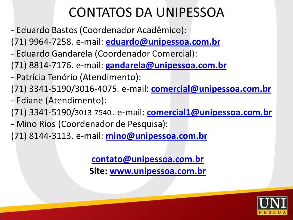 Site: www.unipessoa.com.br