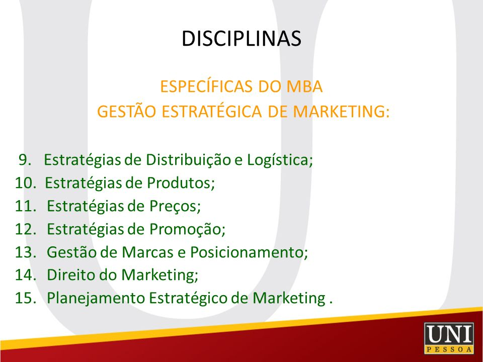 GESTÃO ESTRATÉGICA DE MARKETING: