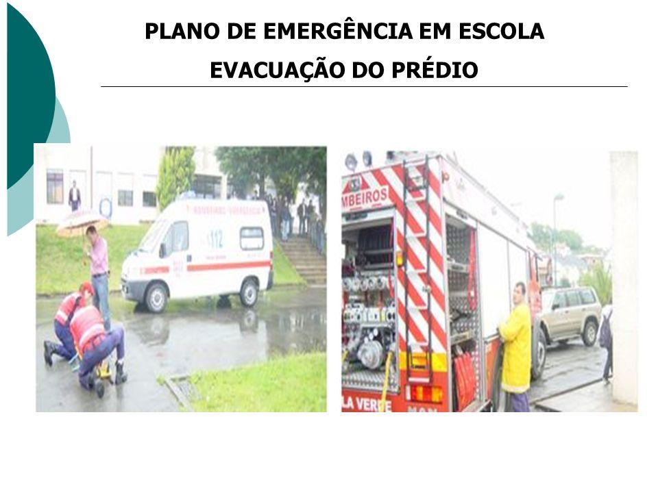 PLANO DE EMERGÊNCIA EM ESCOLA
