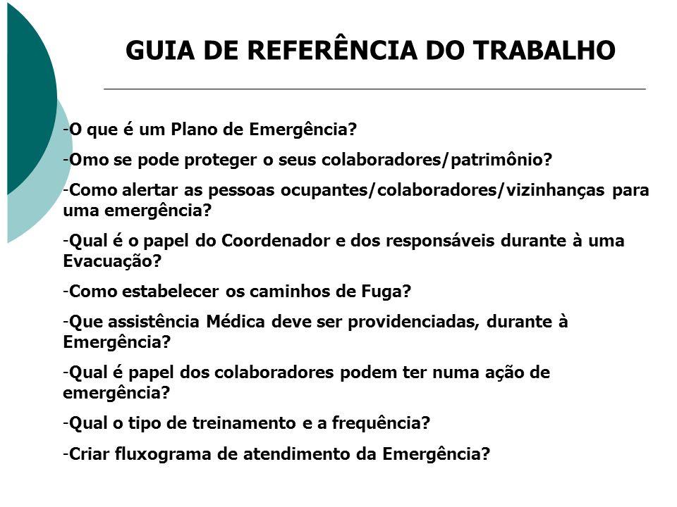 GUIA DE REFERÊNCIA DO TRABALHO