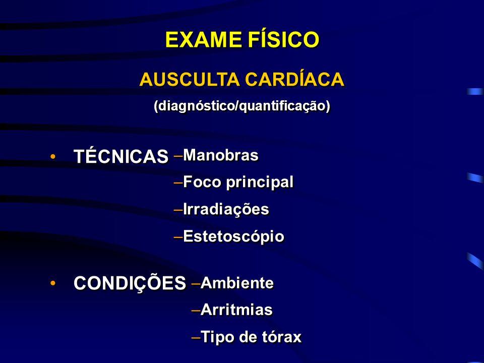 (diagnóstico/quantificação)