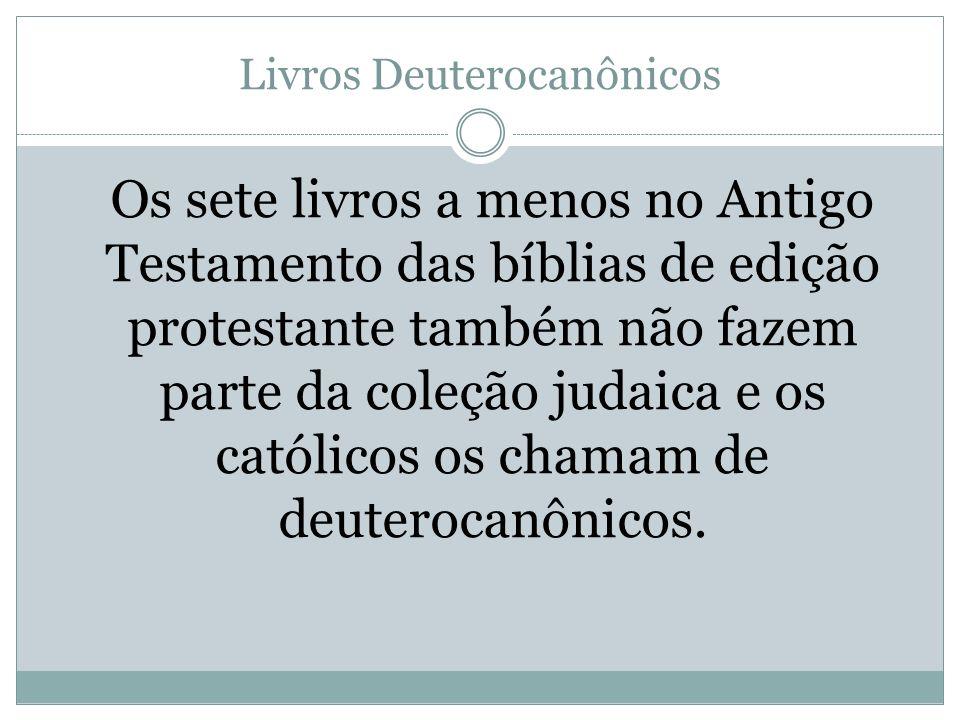 Livros Deuterocanônicos