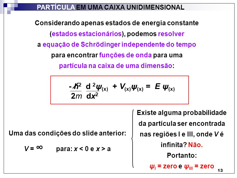 - h2 d 2ψ(x) + V(x)ψ(x) = E ψ(x) 2m dx2